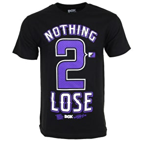 DGK Nothing 2 Lose T-Shirt - Black/Purple