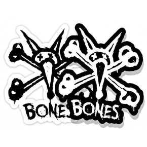 Bones Wheels Vato Stacked Skateboard Sticker - 3