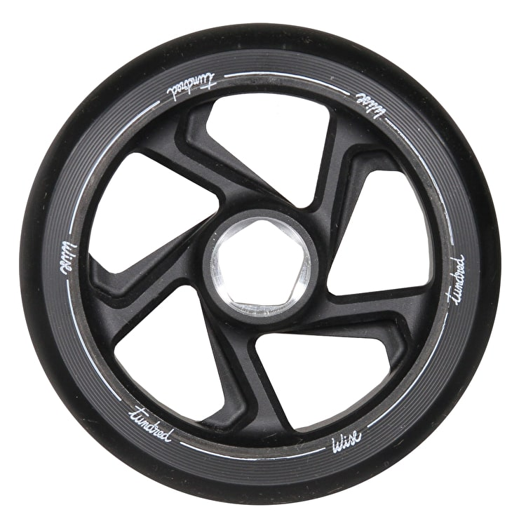 Wise Tundred 110mm Scooter Wheel - Black