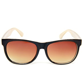 Happy Hour Chima Swag Sunglasses - Black/Champagne