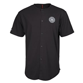 Independent Cross Baseball Pocket T-Shirt - Black