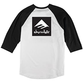 Emerica x Chocolate Raglan - Black/White