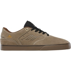 Emerica The Reynolds Low Vulc Skate Shoes - Tan