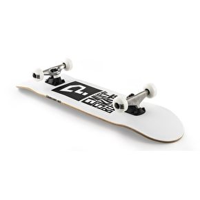 Enuff Block Icon Complete Skateboard - White