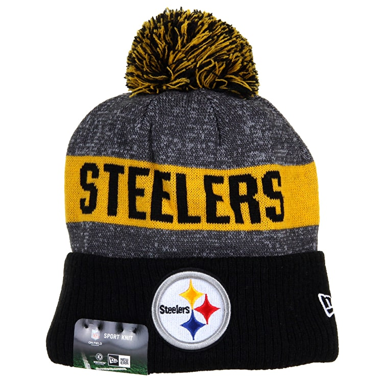 New Era Sideline Beanie - Pittsburgh Steelers