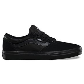 Vans Gilbert Crockett Pro Shoes - Black/Black/Auburn