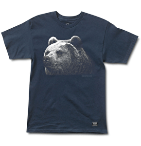 Grizzly Montana T-Shirt - Navy
