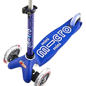 Mini Micro Deluxe Complete Scooter - Blue