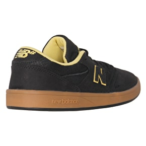 New Balance 598 Skate Shoes - Black/Gum