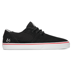 eS Accel SQ Skate Shoes - Black/White/Red
