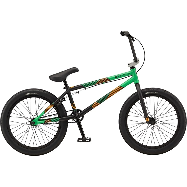 "GT Team 20.75"" Complete BMX Bike - Green"