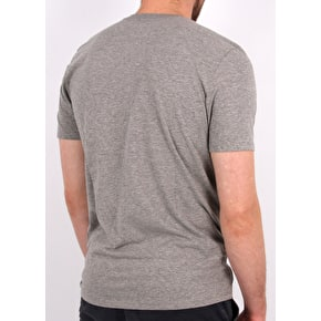 Hurley One & Only Push Through T-Shirt - Dark Grey Heather