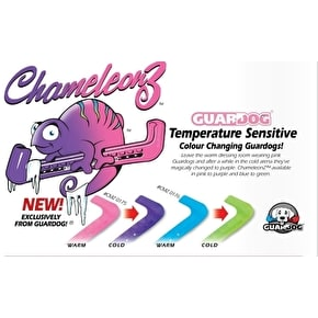 Guardogs Chameleonz Colour Change Ice Skate Guards-Pink/Purple