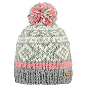 Barts Log Cabin Kids Beanie - Heather Grey