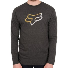 Fox Planned Out LS Tech T-Shirt - Heather Black