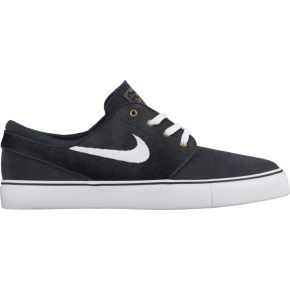 Nike Stefan Janoski Shoes - Dark Obsidian/White