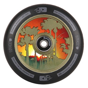 Lucky Tanner Fox Sig 110mm Scooter Wheel - Green