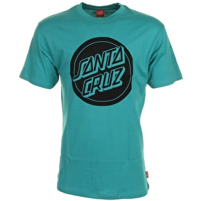 Santa Cruz T-Shirt - Reverse Dot Baltic Blue