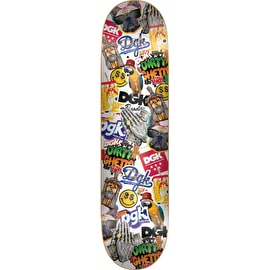 DGK Stick Up Skateboard Deck 8.1