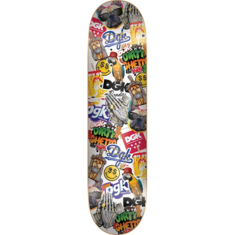 DGK Stick Up Skateboard Deck 8.1""