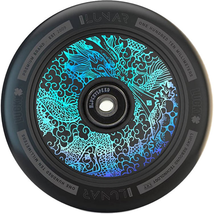 Lucky Lunar 110mm Hollow Core Scooter Wheel - Tattoo