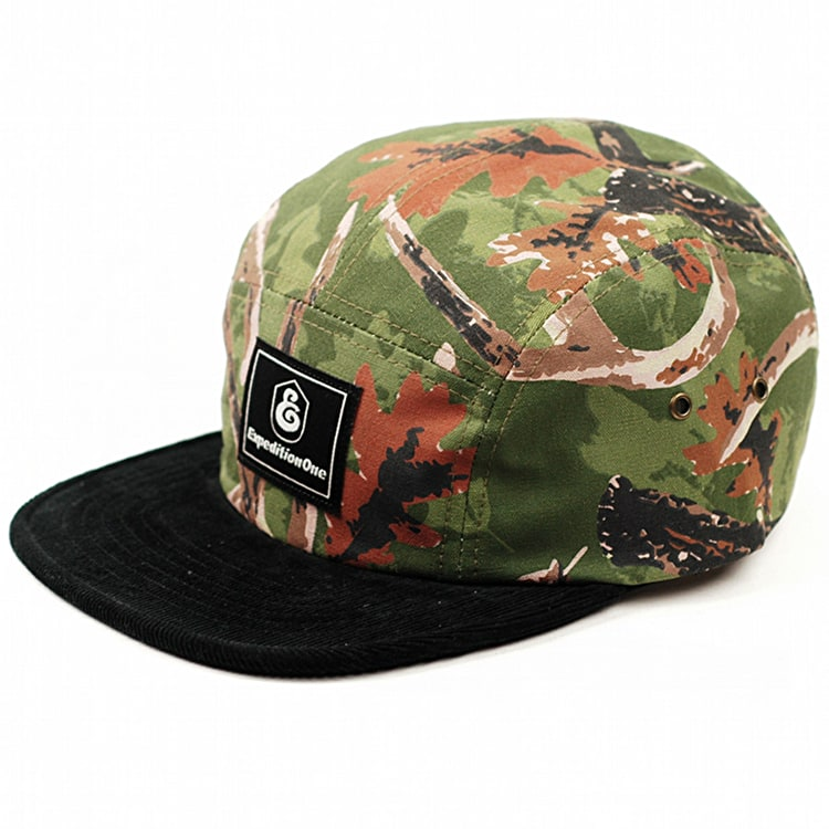 Expedition One Buckwild 5 Panel Cap - Camo