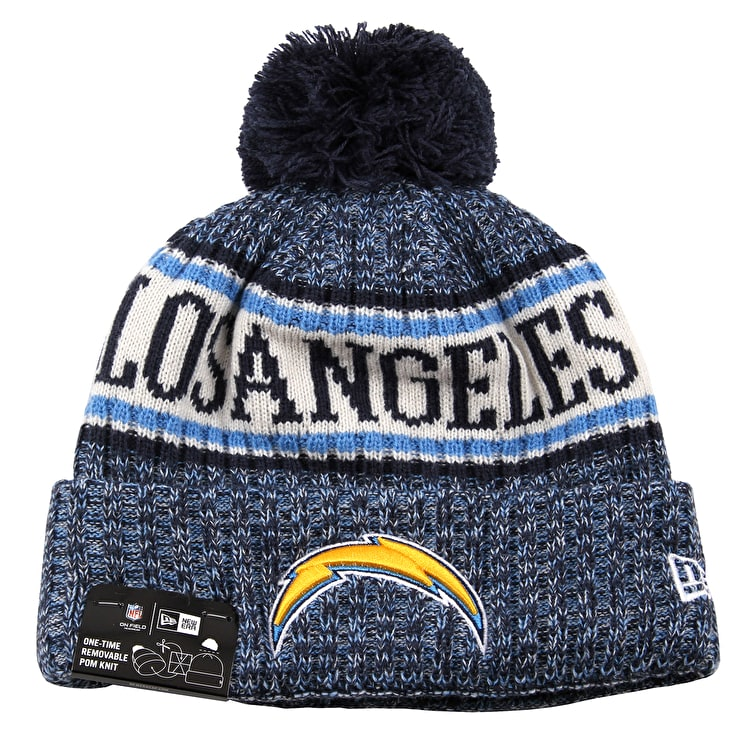 New Era NFL Sideline Beanie 2018 - Los Angeles Chargers