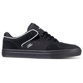 DVS Torey Lo Shoes - Black/Black/White Suede