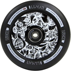 Lucky Lunar 110mm Scooter Wheel - Black/Black