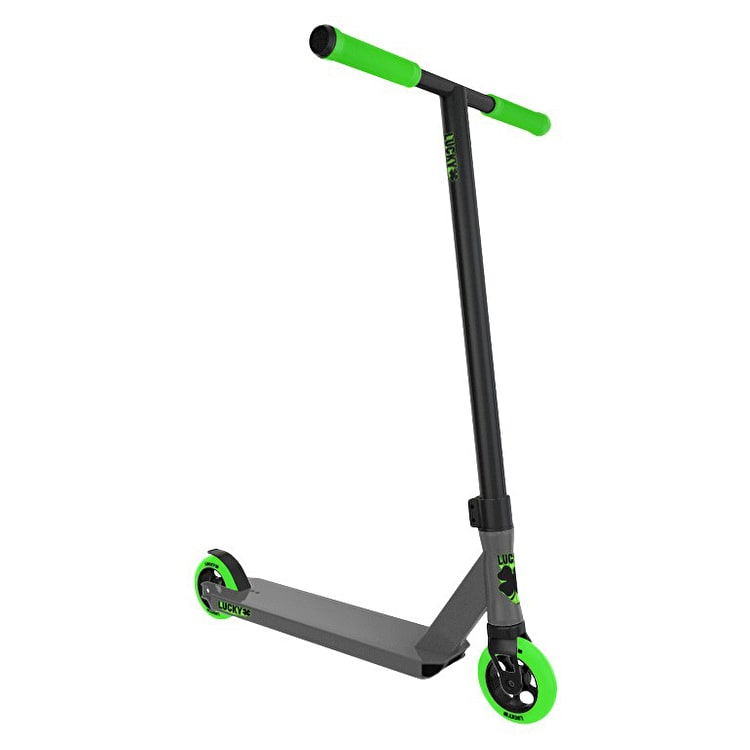 Lucky 2017 Crew Pro Complete Scooter - Graphite/Green