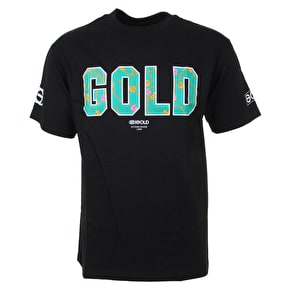 Gold Chains T-Shirt - Black