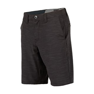 Volcom SNT Fricking Slub Shorts - Black