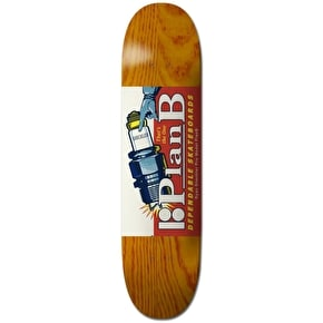 Plan B Skateboard Deck - Sparked Up Sheckler 8.25