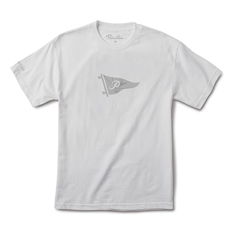 Primitive Shattered Pennant T shirt - White