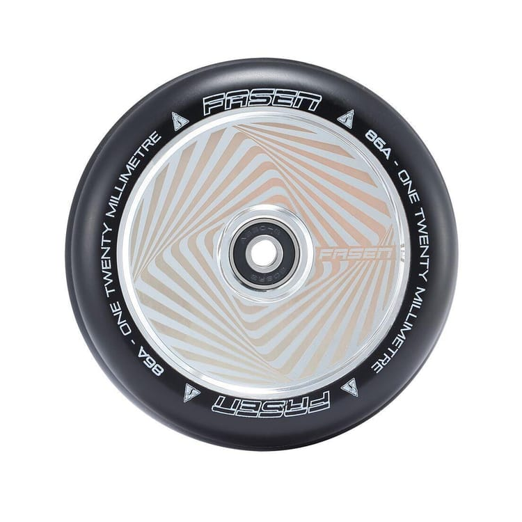 Fasen 120mm Hypno Scooter Wheel - Square Chrome
