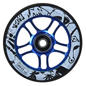 AO 100mm Enzo Scooter Wheel - Blue