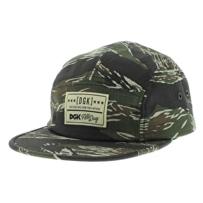 DGK Tiger 5 Panel Strapback Cap