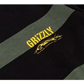 Grizzly Sycamore Crewneck - Black