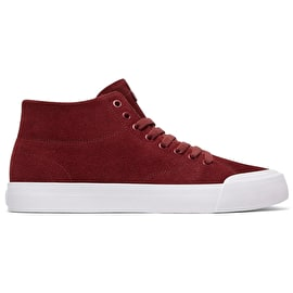 DC Evan Smith Hi Zero Skate Shoes - Maroon