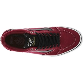 Vans TNT SG Skate Shoes - Tibetan Red