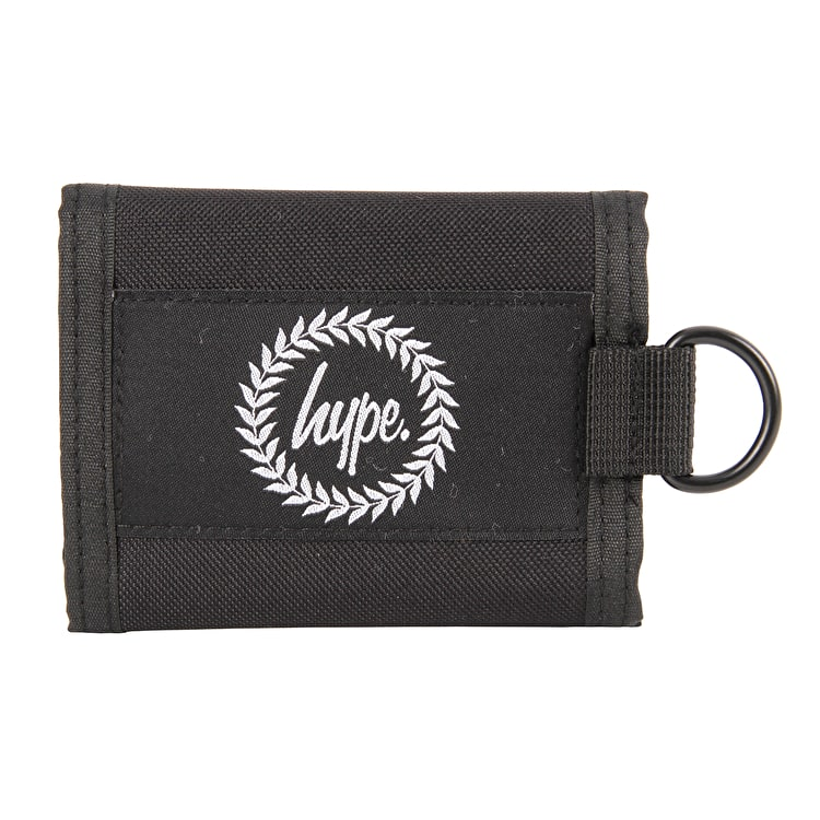 Hype Insignia Wallet - Black