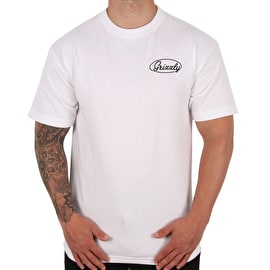 Grizzly Built To Last T shirt - White