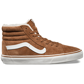 Vans Sk8-Hi Shoes - (Pig Suede/Fleece) Monks Robe