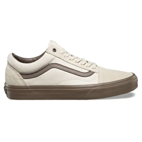 Vans Old Skool Skate Shoes - (C&D) Cream/Walnut