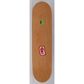 Girl Man-Eater Skateboard Deck - Brophy 8