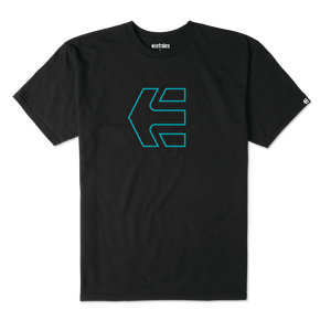 Etnies Icon Outline T-Shirt - Black