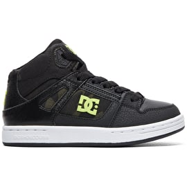 DC Pure HT SE Skate Shoes - Black/Camo