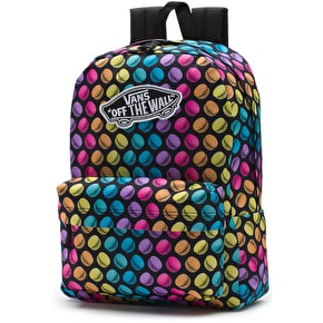 Vans Realm Backpack - (Late Night) Black/Macaroons