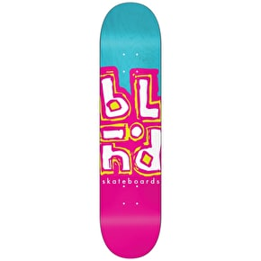 Blind Jumble Split Skateboard Deck - Blue/Pink 8.0