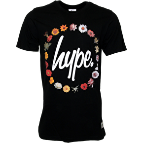 Hype Floral Reef T-Shirt - Black
